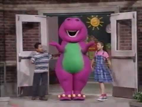 Walk Around the Block with Barney (1999 Version) Part 1