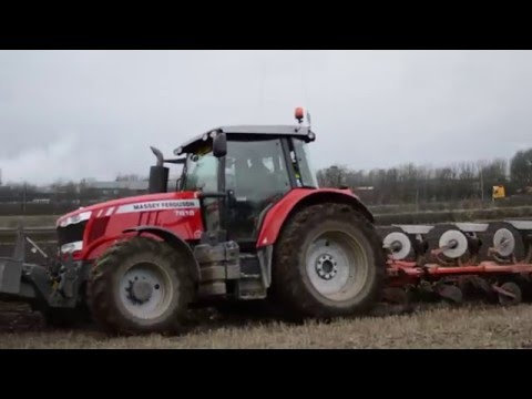 Leslie Brown Contracting Massey Ferguson 7618
