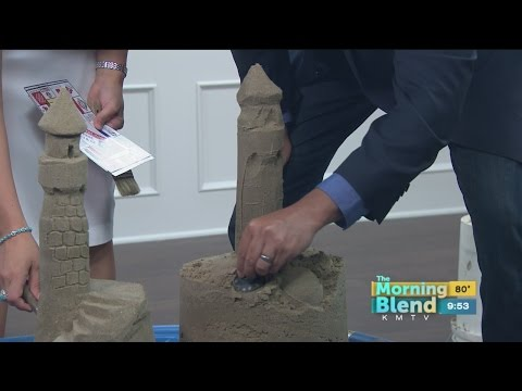 Live TV Blooper Sand Sculpting Mishap