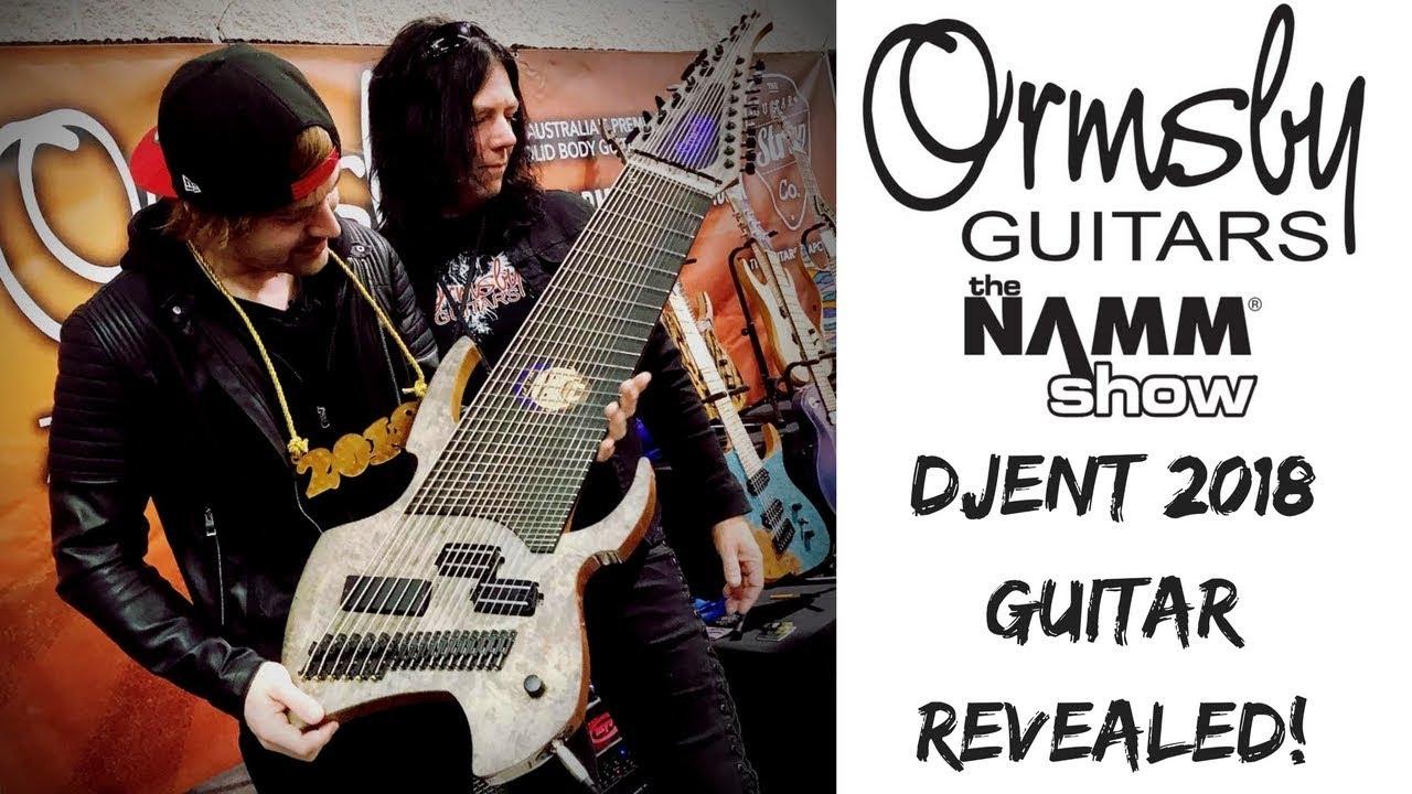 NAMM 2018: 2018 DJENT GUITAR REVEALED! Ormsby Guitars   Jared Dines   18 String Guitar!!