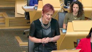 Read the full transcript in the Scottish Parliament Official Report.goo.gl/5ex1XbPublished by the Scottish Parliament Corporate Body.www.parliament.scot  //  We do not facilitate discussions on our YouTube page but encourage you to share and comment on our videos on your own channels.  //  If you would like to join in our conversations please follow @ScotParl on Twitter or like us on Facebook at www.facebook.com/scottishparliament