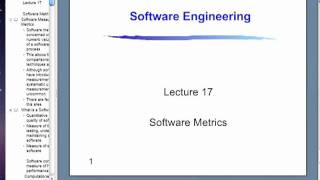 Software Enginnering Live Class - Lecture 9
