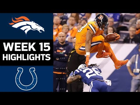 Video: Broncos vs. Colts | NFL Week 15 Game Highlights