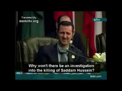 Пророческие слова Муаммара Каддафи на саммите Лиги арабских государств в Сирии (2008г.)
