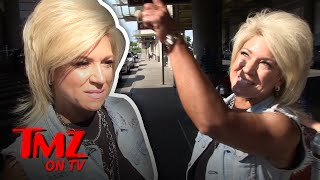 We asked 'Long Island Medium' Theresa Caputo if she ever talks to dead celebs or politicians but right when we ask a loud thunder struck and Theresa said it was a sign from up above to keep her mouth shut!SUBSCRIBE: http://po.st/TMZSubscribeAbout TMZ:TMZ has consistently been credited for breaking the biggest stories dominating the entertainment news landscape and changed the way the public gets their news. Regularly referenced by the media, TMZ is one of the most cited entertainment news sources in the world. Subscribe to TMZ on YouTube for breaking celebrity news/ gossip and insight from the newsroom staff (TMZ Chatter & TMZ News), the best clips from TMZ on TV, Raw & Uncut TMZ paparazzi video (from TMZ.com) and the latest video from TMZ Sports and TMZ Live! Keeping Up with Our YouTube Exclusive Content:TMZ Chatter: TMZ newsroom staff insight and commentary from stories/ photos/ videos on TMZ.com TMZ News: The latest news you need to know from TMZ.comRaq Rants: Raquel Harper talks to a celebrity guest with ties to the hip hop and R&B communities.Behind The Bar Podcast: TMZ's lawyers Jason Beckerman and Derek Kaufman loiter at the intersection of law and entertainment, where they look closely at the personalities, events and trends driving the world of celebrity — and how the law affects it all.We love Hollywood, we just have a funny way of showing it.Need More TMZ?TMZ Website: http://po.st/TMZWebsiteLIKE TMZ on Facebook! http://po.st/TMZLikeFOLLOW TMZ on Twitter! http://po.st/TMZFollowFOLLOW TMZ on Instagram! http://po.st/TMZInstaTMZ on TV & TMZ Sports on FS1 Tune In Info: http://po.st/TMZOnAirTMZ is on iOS! http://po.st/TMZiOSTMZ is on Android! http://po.st/TMZonAndroidGot a Tip?Contact TMZ: http://po.st/TMZTipCheck out TMZ Live, TMZ Sports and toofab!TMZ Live: http://po.st/TMZLiveWebsiteSubscribe! TMZ Live: http://po.st/TMZLiveSubscribeTMZ Sports: http://po.st/TMZSportsWebsiteSubscribe! TMZ Sports: http://po.st/TMZSportsSubscribeToofab: http://po.st/toofabWebsiteSubscribe! toofab: http://po.st/toofabSubscribeLong Island Medium' Theresa Caputo, Things Get Eerie While Talking Dead Celebs  TMZ TVhttps://www.youtube.com/c/TMZ