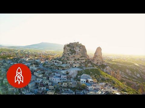 A Hidden Underground City in Turkey