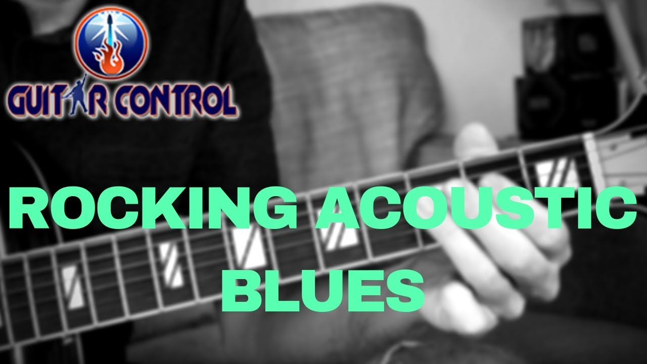 Rocking Some Acoustic Blues With Sean Daniel – Blues Guitar Exercise For Beginners