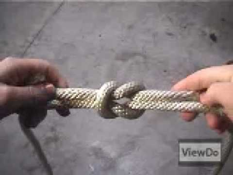 ViewDo: How To Tie a Squareknot Video