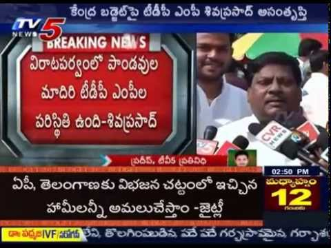 TDP Ready to Fight with BJP Unhappy With Budget  TV5 News