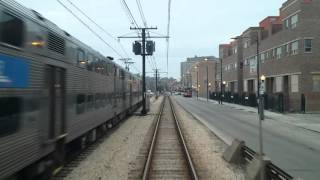 Metra Cab ride from 93rd st/South Chicago to Van Buren