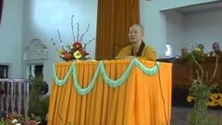 TU CHUNG - HT THÍCH TRÍ QUẢNG thuyết giảng ngày 25.03.2007 (MS 280/2007)