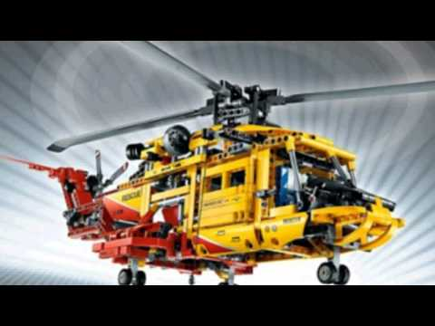 Video YouTube video ad of the Technic Helicopter 9396