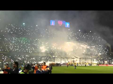 Video - El recibimiento de Boca ante River - La 12 - Boca Juniors - Argentina