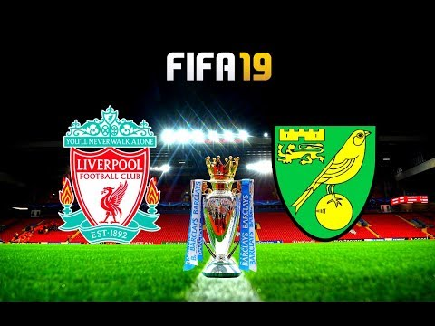 FIFA 19 | Liverpool vs Norwich City - 2019/20 Premier League Season - Full Match & Gameplay