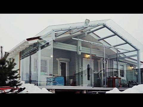 Дом с баней за 1.8 миллиона с оригинальной террасой. - DomaVideo.Ru