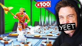 trying the 100 LEVEL DEATHRUN
