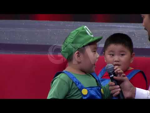 Gemes Banget! Selebgram Cilik Kenzo & Kenneth | Little Big Shots Indonesia #4 GTV 2017