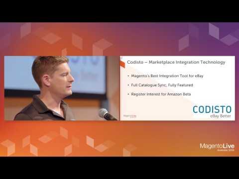 MagentoLive Australia 2016- Solutions Spotlight: Codisto