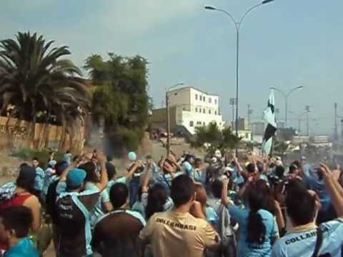 Video - bajada de la plaza hinchada iquiqueña 2012 - Furia Celeste - Deportes Iquique - Chile