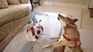 Tarjeta de Navidad para compartir. Singing Jingle Bells