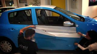 VINELIT.-CAR WRAPPING RENAULT CLIO VINYL 3M  .-VINELIT