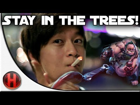 Dota 2 - Stay in the Trees!