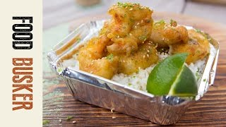 Wasabi Tempura Shrimp | Food Busker by Food Busker