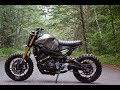 The Yamaha FZ 09  Scrambler is one bad bike, custom by droogmoto