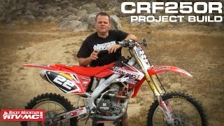 1. 2004 CRF250R Project Build