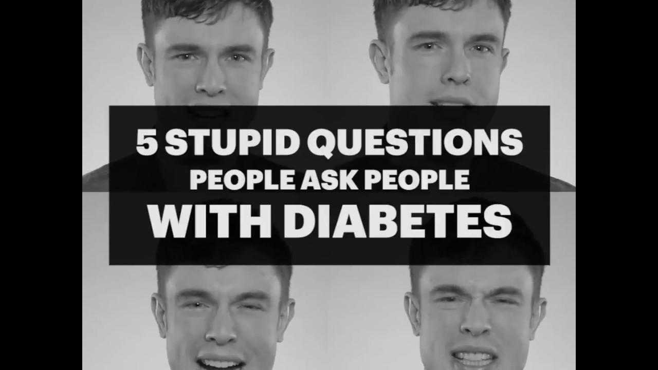 глупых вопросов о диабете. Диабет, сахарный диабет, СД1 типа, СД 2 типа, Правило 15.