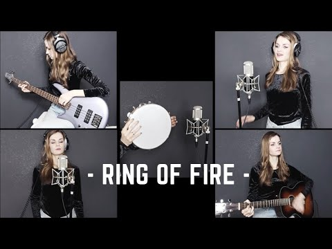 "Johnny Cash  ""Ring Of Fire"" Cover by Diary of Madaleine Music"