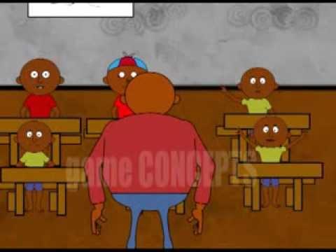 Yuda luganda cartoon series - Teacher episode
