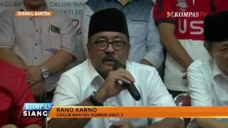 Perolehan Suara Pilkada Banten Selisih Tipis