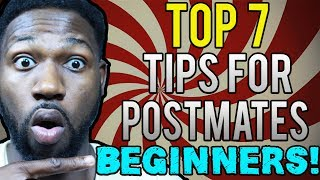 """Being a postmates delivery driver can be hard, so Ill be showing you my Top 7 tips for postmates beginners. These tips can apply for both new and old postmates so don't be alarms. If you want to make good postmates money, you should try to watch this video! I really try my best to hook you up with the best postmates tips and tricks so if you want more postmates money be sure to watch !VIDEO STARTS AT 16:48Subscribe Here :https://goo.gl/Wd56du-~-~~-~~~-~~-~-Please watch: """"UBER DRIVER CHARGED ME $90 BUCKS - UBER STORYTIME 🚗🚘"""" https://www.youtube.com/watch?v=m-lAcdcrDn4-~-~~-~~~-~~-~-"""