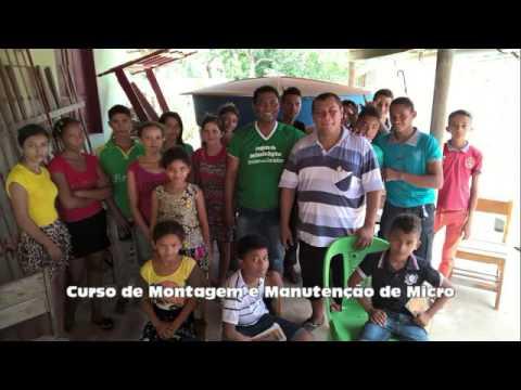 Projeto de inclusão digital em Pinheiro-MA