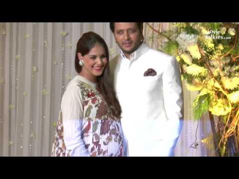 Riteish Deshmukh & Pregnant Genelia D'Souza CUTE Moments