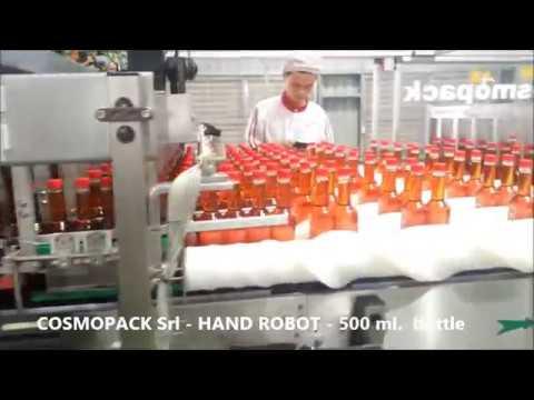 Lane Divider Hand Robot - Bottles
