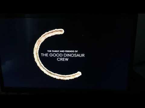 End Credit Logos Of Kong Skull Island, The Good Dinosaur, The Martian & Finding Dory