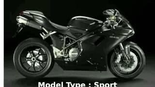 4. 2010 Ducati 848 Dark -  superbike motorbike