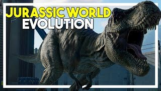 JURASSIC WORLD EVOLUTION! - Creating my own JURASSIC PARK - Jurassic World Evolution Gameplay Ep 1