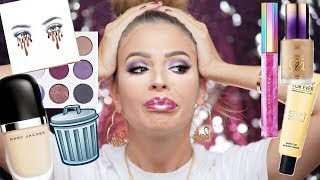 Video FULL FACE OF MAKEUP IM THROWING OUT! MP3, 3GP, MP4, WEBM, AVI, FLV April 2019