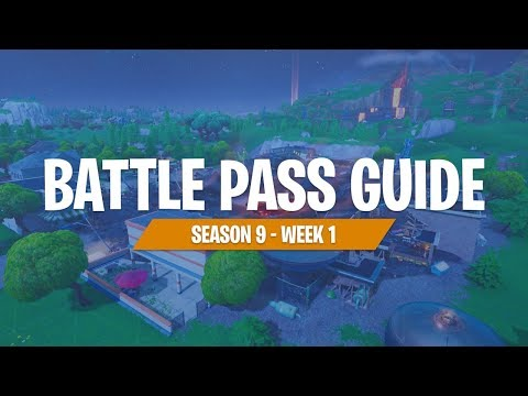 Season 9 Week 1 Battle Pass Challenge With FortniteMaster (Fortnite Battle Royale)