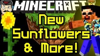 Minecraft News SUNFLOWERS&New Grass!