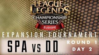 Expansion Tournament - R1D2 - SPA vs DD