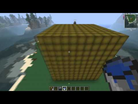 Minecraft Nuclear Reactor Explosion Radius Testing