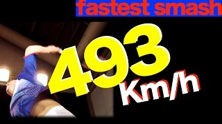 Video Guinness World Record 【Fastest Badminton Smash】 for right hand plyer image training MP3, 3GP, MP4, WEBM, AVI, FLV Juli 2018