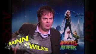 Monsters vs Aliens Cast Interview