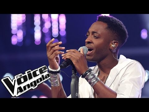 "L´Vincy canta ""Lost Without You"" / The Voice Angola 2015 / Gala"
