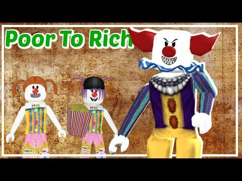 Bloxburg Poor To Rich: The Clown Family