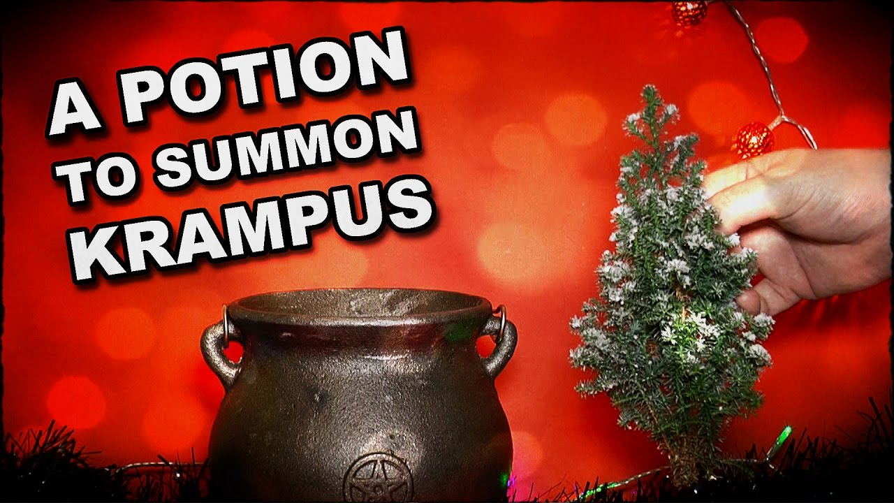 How To Make A Potion To Summon Krampus On Christmas Eve